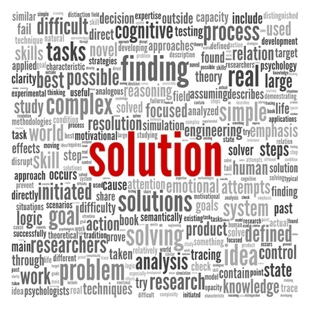 problem solving to find the best solution